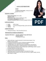 Resume Formats (115)