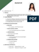 Resume Formats (167)