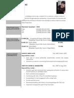 Resume Formats (168)