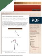 Deltaphiblog_ Solución Del Péndulo Simple y Simulación Con Mathematica