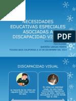 NECESIDADES EDUCATIVAS ESPECIALES ASOCIADAS A DISCAPACIDAD VISUAL.pptx