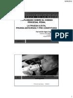 pruebaanticipada Prueba ilicita