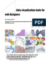 20 Superb Data Visualisation Tools for Web Designers