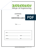 CE09 407(P)_ Surveying Lab II