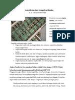 Konstruksi Beton Anti Gempa dari Bambu