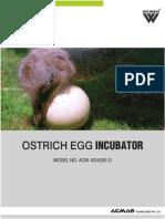 Ostrich Egg Incubator