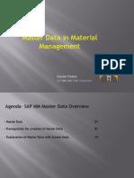Mm Master Data
