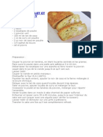 Cake au Poulet et au Curry