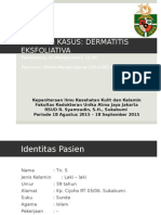 Presentasi Case Dermatitis Eksfoliativa Gladys