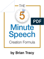 5 Minute Speech PDF