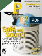 ASQ Quality Progress Magazine May 2009