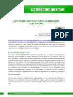 LECTURA 4 Los Pilares Qu e Sostienen La Dirección Estratégica