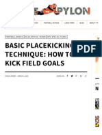 Basic Placekicking Technique_ How to Kick Field Goals - Inside The Pylon.pdf