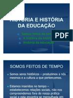 HISTÓRIA DA EDUCAÇÃO E DA PEDAGOGIA - AULA 1 (1)