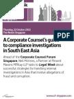 Corporate Counsel Forum Singapore 2015