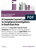 Corporate Counsel Forum Singapore 2015