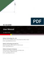 IC-3116W User Manual