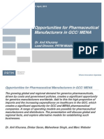 Opportunities for Pharma in GCC