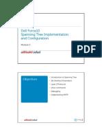 Dell FTOS 05 Spanning Tree