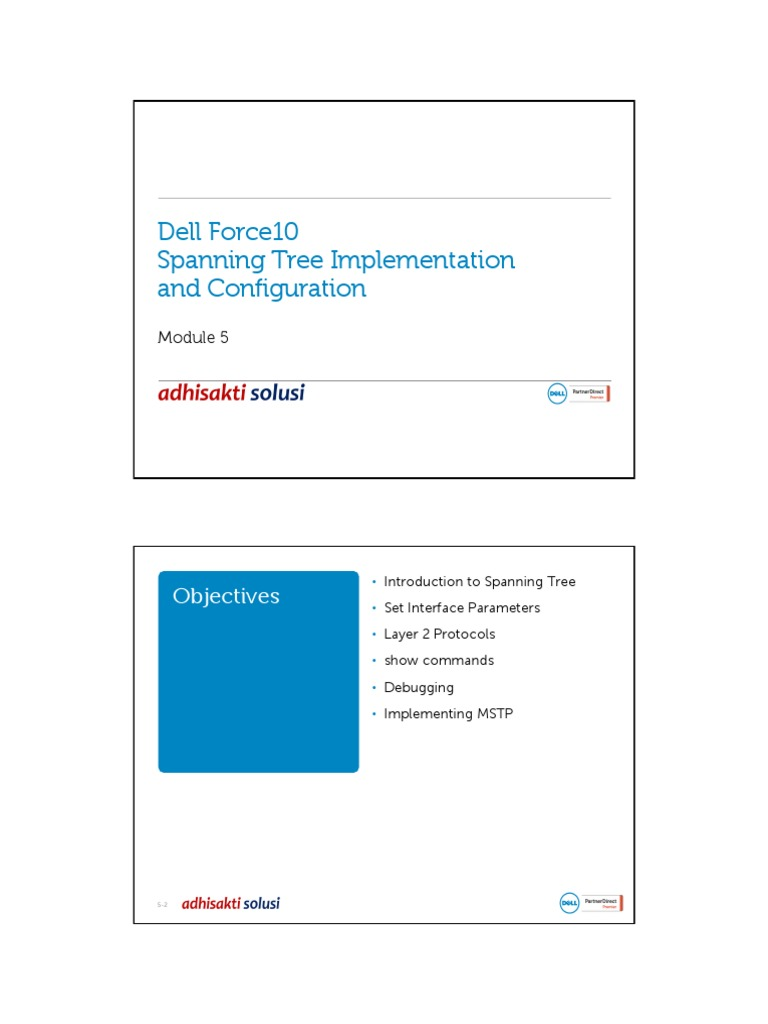 Dell FTOS 05 Spanning Tree   Computer Standards   Telecommunications ...