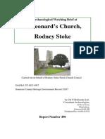 St Leonard's Church Rodney Stoke