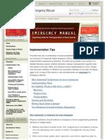 Implementation Tips Stanford-06!17!14