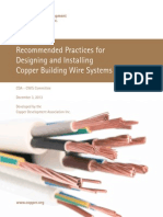 Guide to Designing and Installing Copper Building Wire Systems