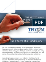 The Key to Hand Injury Prevention