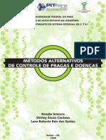 Métodos Alternativos de Controle de Pragas e Doenças