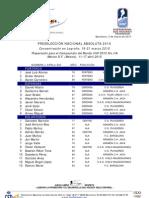FEDH Hockey Hielo - Preselección Nacional 2010 - E REVISADA