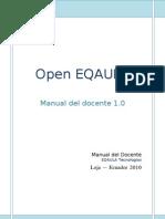 Manual Del Docente EQAULA