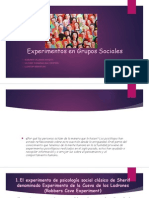 Experimentos en Grupos Sociales