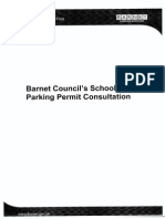 Barnet Council's Schools Parking Permit Consultation