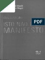 Hardt&Negri Declaração Isto Não é Um Manifesto 2014