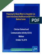 CDC Webinar