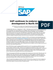 SAP Continues to Endorse Skills Development in North Africa
