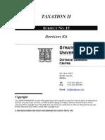 Tax Revision Kit