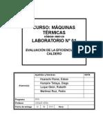 Informe-1 Eficiencia Calderas