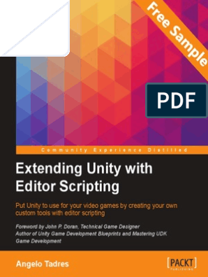 Extending Unity with Editor Scripting - Sample Chapter   Scripting