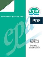 EPA Landfill Site Design Guide