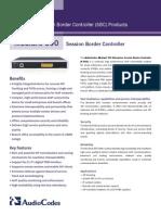 Mediant 500 SBC Datasheet