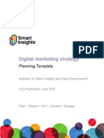 v1.1 Digital Marketing Plan Template