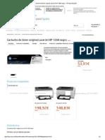 Cartucho de Tóner Original LaserJet HP 126A Negro - HP Store España
