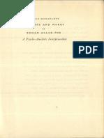 1949 Bonaparte Life and Works of Edgar Allen Poe