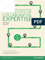 John Hattie Study Pearson Solutions What Works Best in Education the Politics of Collaborative Expertise 2015