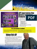 AUP Highlights Jun-Jul 2015