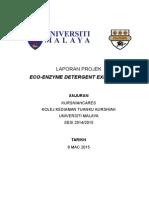 Laporan Projek Eco Enzyme Detergent
