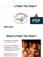 what is walk the wish