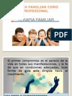 El Terapeuta Familiar Como Persona y Profesional
