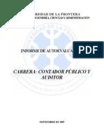 Informe de Autoevaluacin Contador Pblico y Auditor
